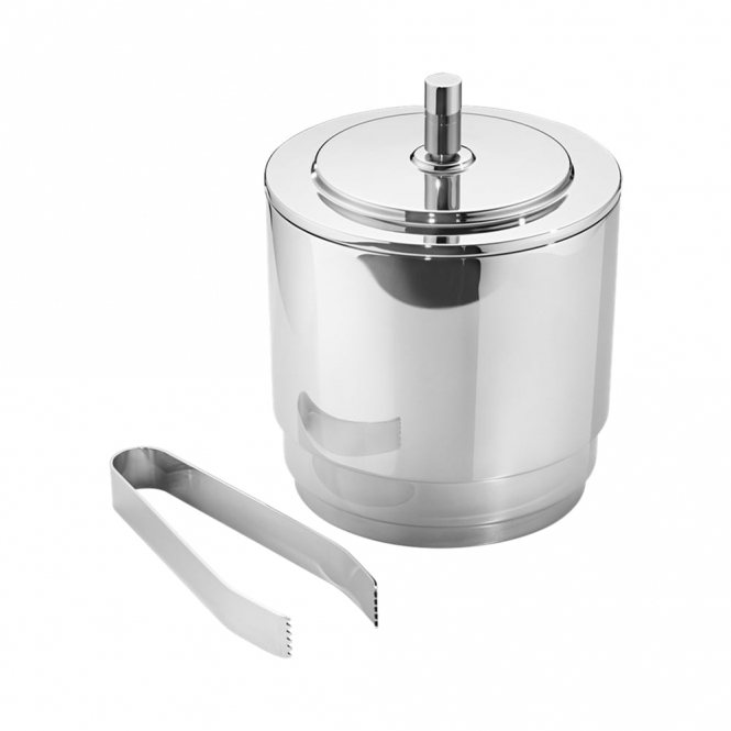 Manhattan Stainless Steel Ice Bucket with Tongs
