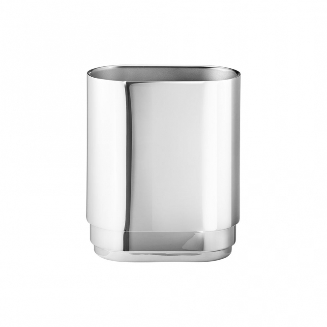 Manhattan Stainless Steel Small Vase