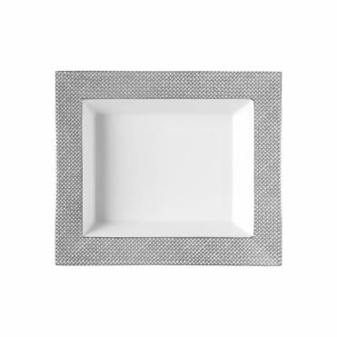 Medium Platinum Grey Mesh Dish