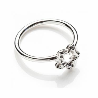 Mini Star Silver Ring