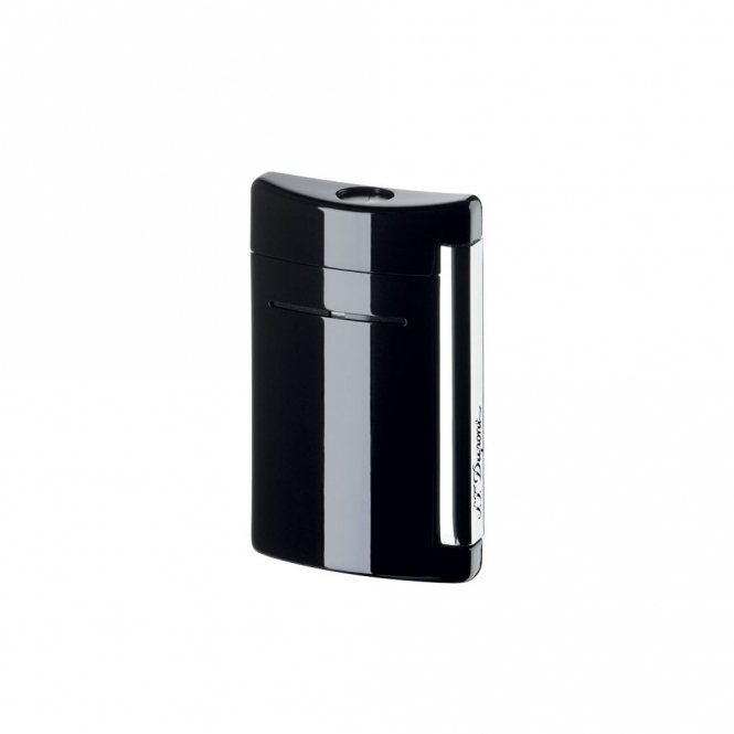 Minijet Jet Flame Lighter in Black Gloss
