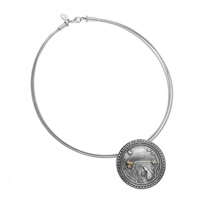 Moondance Moon Necklace