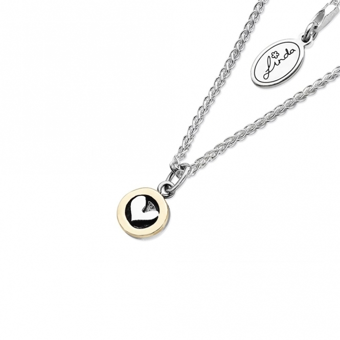Moondance Necklace with Heart