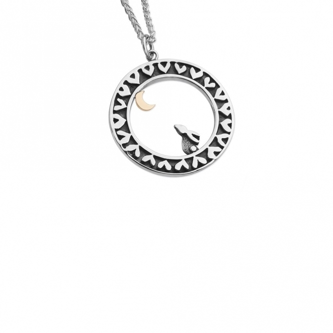 Moondance Necklace with Rabbit