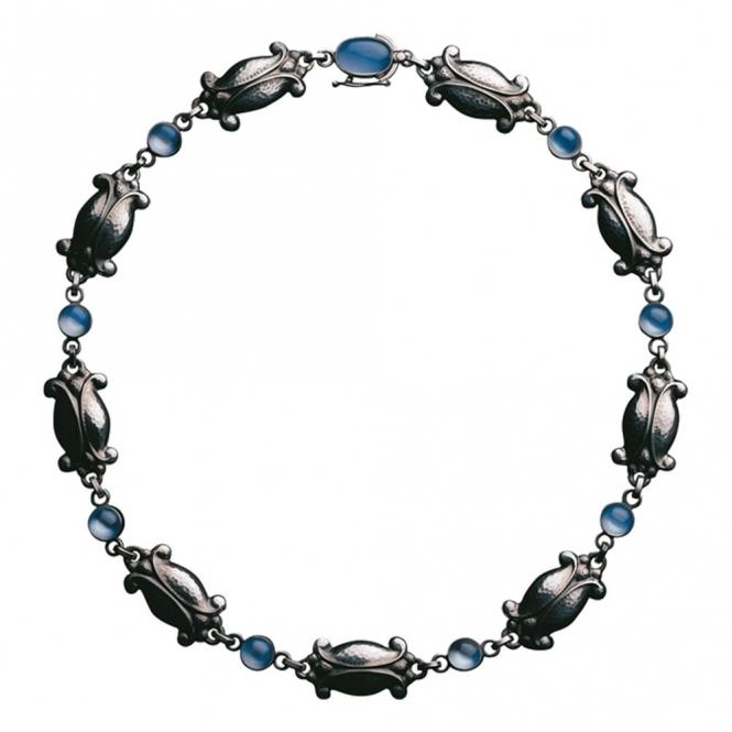 Moonlight Blossom Moonstone Necklace