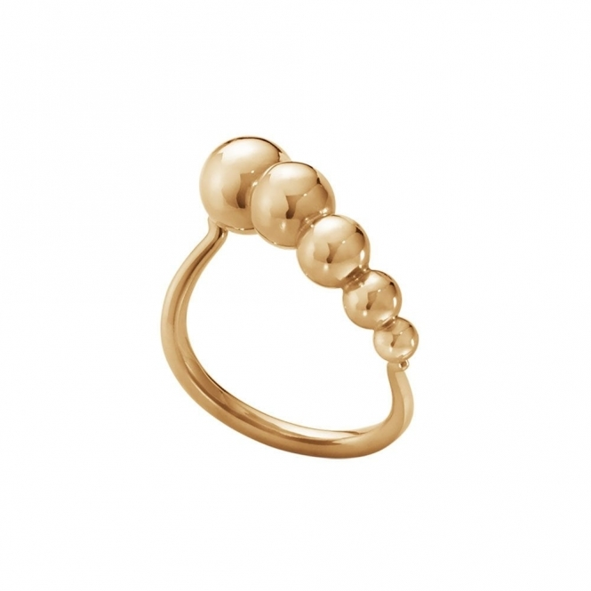 Moonlight Grapes 18ct Rose Gold 1551A Slim Ring