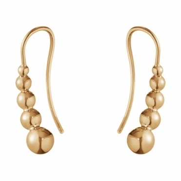 Moonlight Grapes 18ct Rose Gold 1551C Earhooks