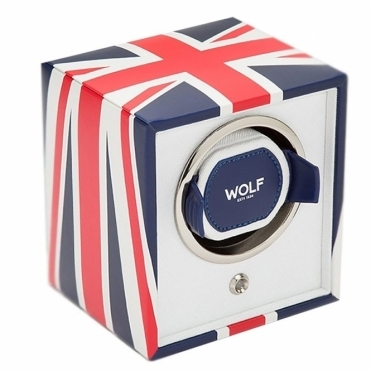 Navigator Cub Single Watch Winder - Union Flag