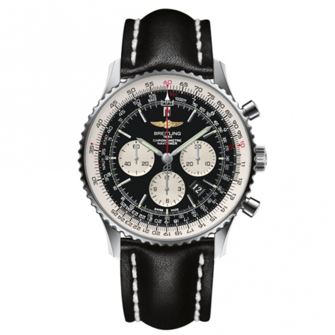 Navitimer 01 (46mm) Automatic Chronograph with Sapphire Crystal Case-Back