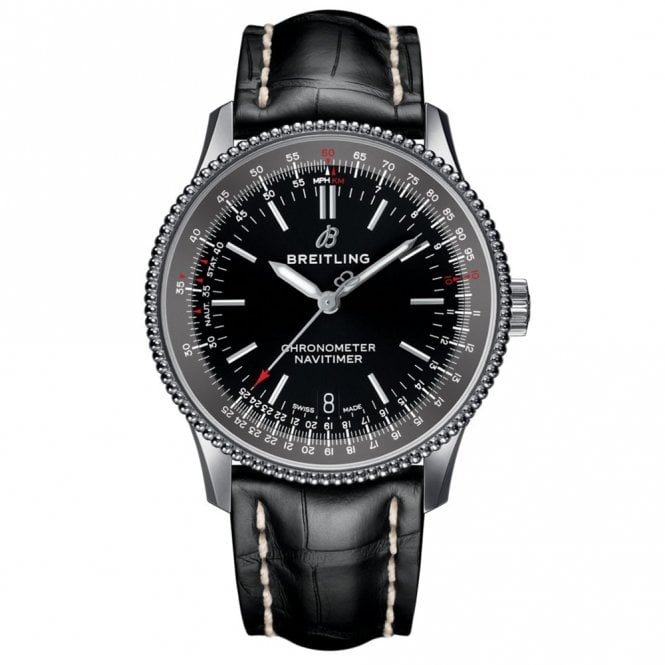 Navitimer 1 Automatic 38mm 3 Hands Chronometer - Black