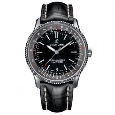 Navitimer 1 Automatic 38mm 3 Hands Chronometer - Black