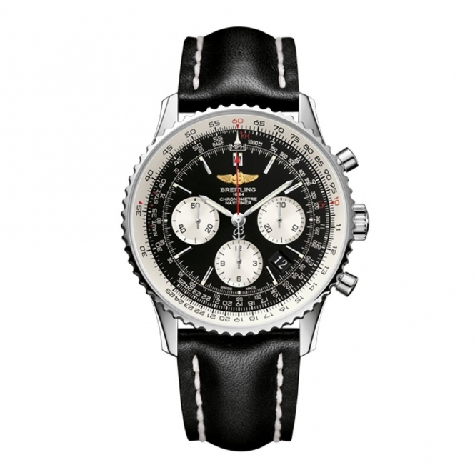 Navitimer Caliber 01 43mm Self Winding Chronograph Watch - AB012012