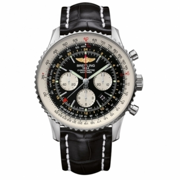 Navitimer GMT automatic chronograph with Sapphire Crystal Case-back