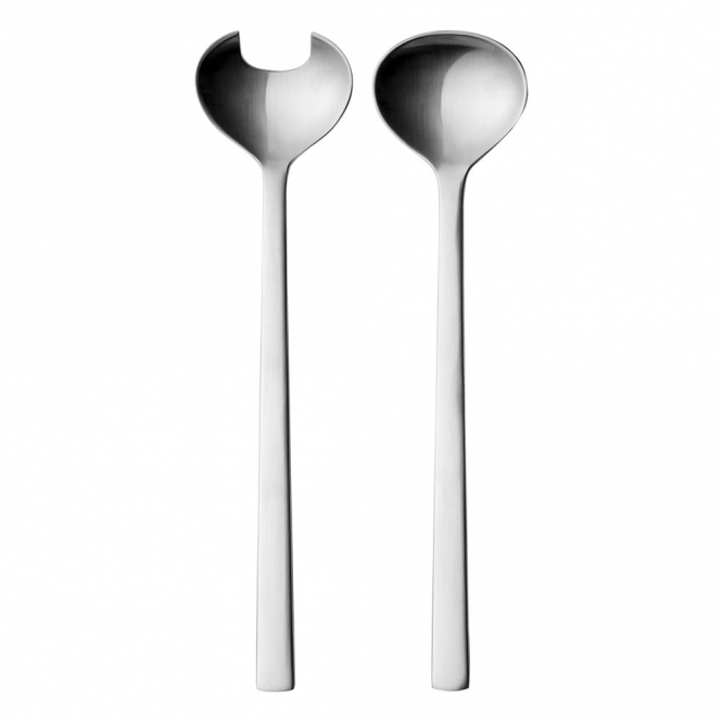 New York Stainless Steel Salad Servers