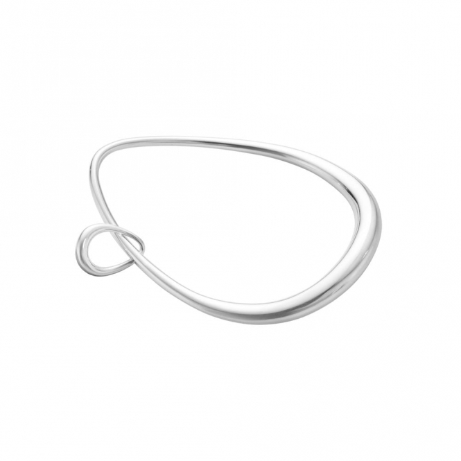 Offspring Sterling Silver Bangle with Charm