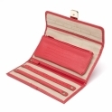 Palermo Jewellery Roll in Coral Teju Lizard Finish