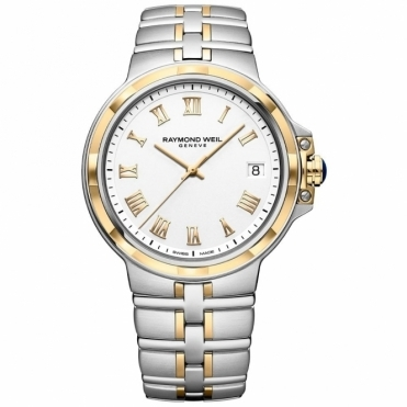 Parsifal Gents Two-Tone Quartz Watch with Roman Numerals