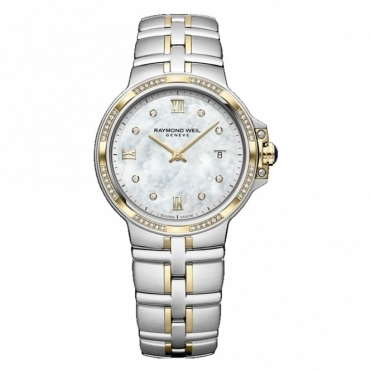 Parsifal Ladies Steel and Yellow Gold PVD Diamond-set Watch