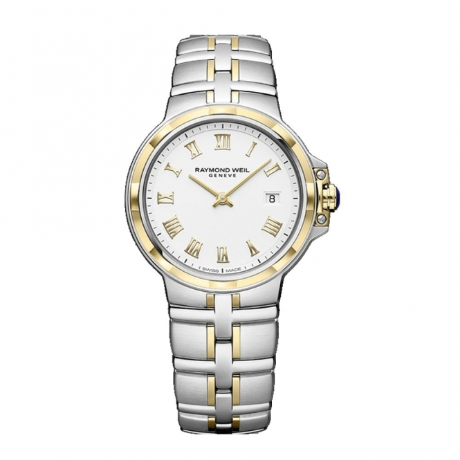 Parsifal Ladies Two-Tone Quartz Watch with Roman Numerals