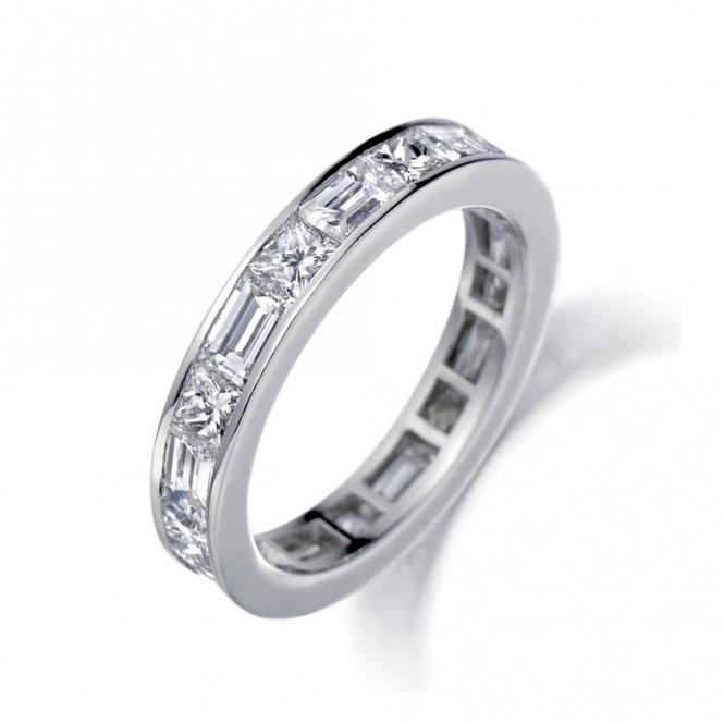 Platinum Diamond Set Ring. Design No. 1P82C