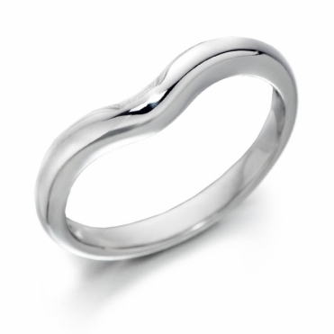 Platinum Fitted 2.5mm Wedding Ring