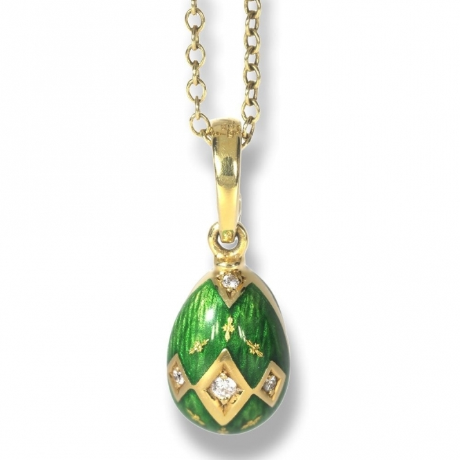 Pre owned Faberge egg pendant