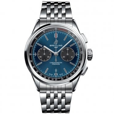 Premier B01 Automatic Chronograph 42mm Blue