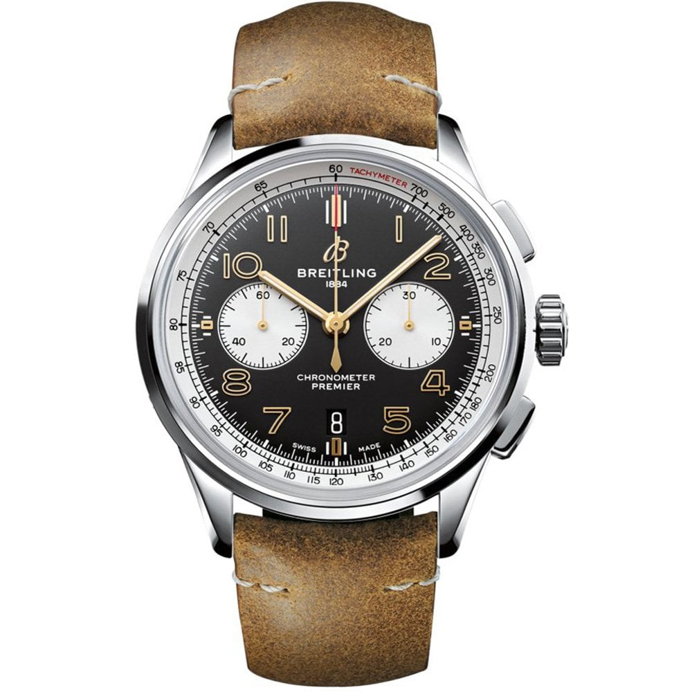 "Wharton Goldsmith: Premier B01 Chronograph 42 Special ""Norton"" Edition"