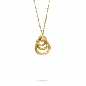 18ct Yellow Gold Jaipur Link 'Three Link' Necklace