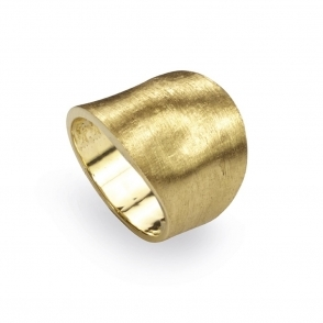 18ct Yellow Gold Lunaria Ring