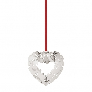 2015 Christmas Palladium Plated Heart