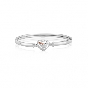 9ct Gold & Silver Eternal Love Bangle
