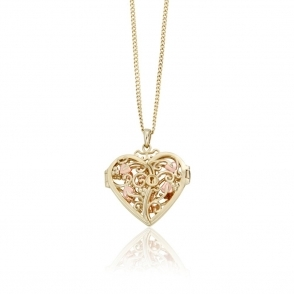 9ct Yellow Gold Kensington Locket