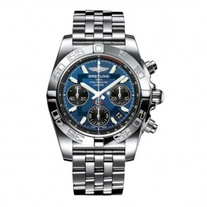 "Chronomat 41 automatic chronograph with ""Black-eyed Blue"" Dial"