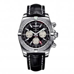 "Chronomat 44 GMT Automatic Chronograph with Breitling 04 proprietry ""in-house"" movement - AB042011/BB56"