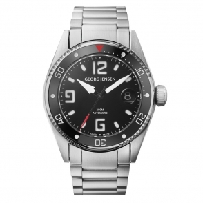 Delta Dive D42-ST70 42mm Automatic Watch in Brushed steel with Black Dial and Bezel - 3575604