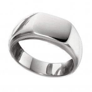 Gents Cushion Signet Ring