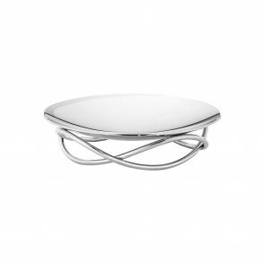 Glow Medium Stainless Steel Dish