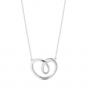 Hearts of Georg Jensen Sterling Silver Pendant, Large