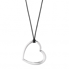 Hearts of Georg Jensen Sterling Silver Pendant