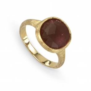 Jaipur 18ct Yellow Gold Pink Tourmaline Ring