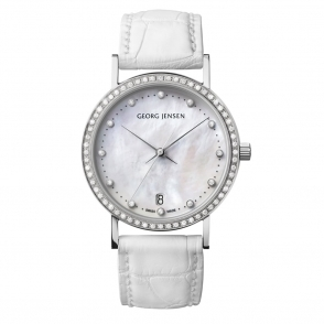Koppel K32-ST02 Ladies 32mm Diamond Set Quartz Watch