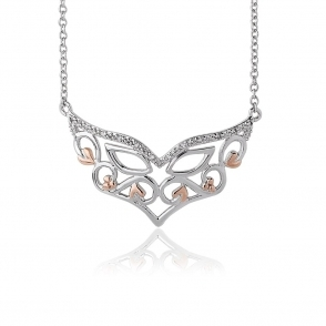 Masque White Topaz Necklace