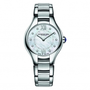 Noemia Ladies Watch with Mother of Pearl Diamond-Set Dial