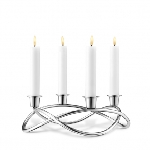 Season Mirror Finish Candleholder