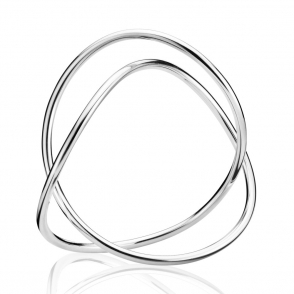 Silver Alliance Bangle