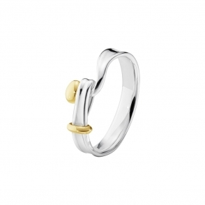 Sterling Silver & 18ct Yellow Gold Torun Ring
