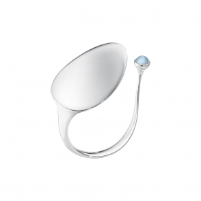 Sterling Silver & Blue Topaz Vivianna Archive Bangle