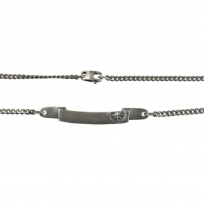 Sterling Silver I.D Necklace. product Ref. C4054N