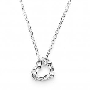Sterling Silver Mini Heart Pendant